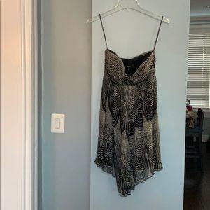 Bandeau mini dress from Express
